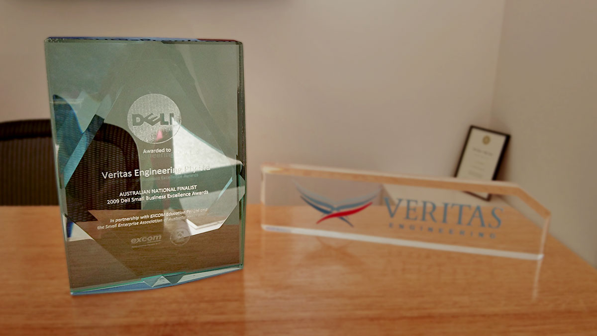 2009 Dell Small Business Excellence Award Finalist - Veritas
